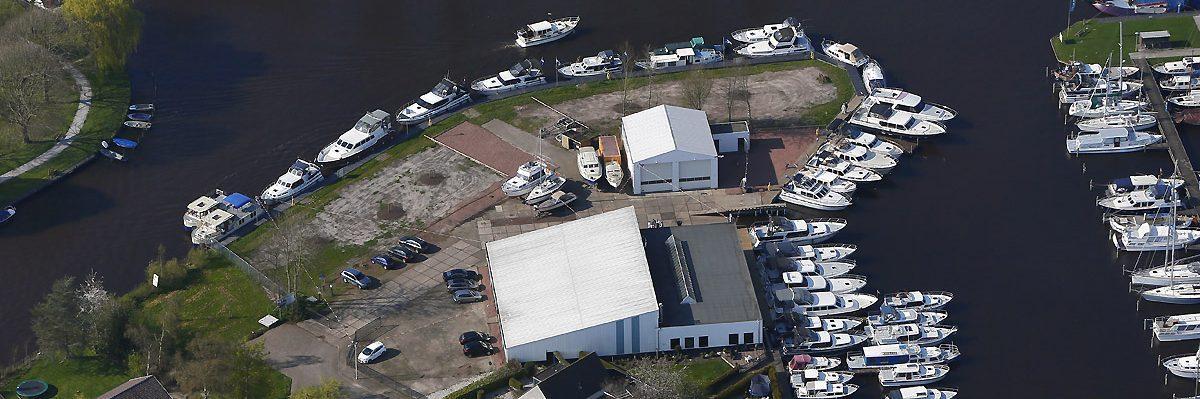 Boven aanzicht Yachtcharter Friesland