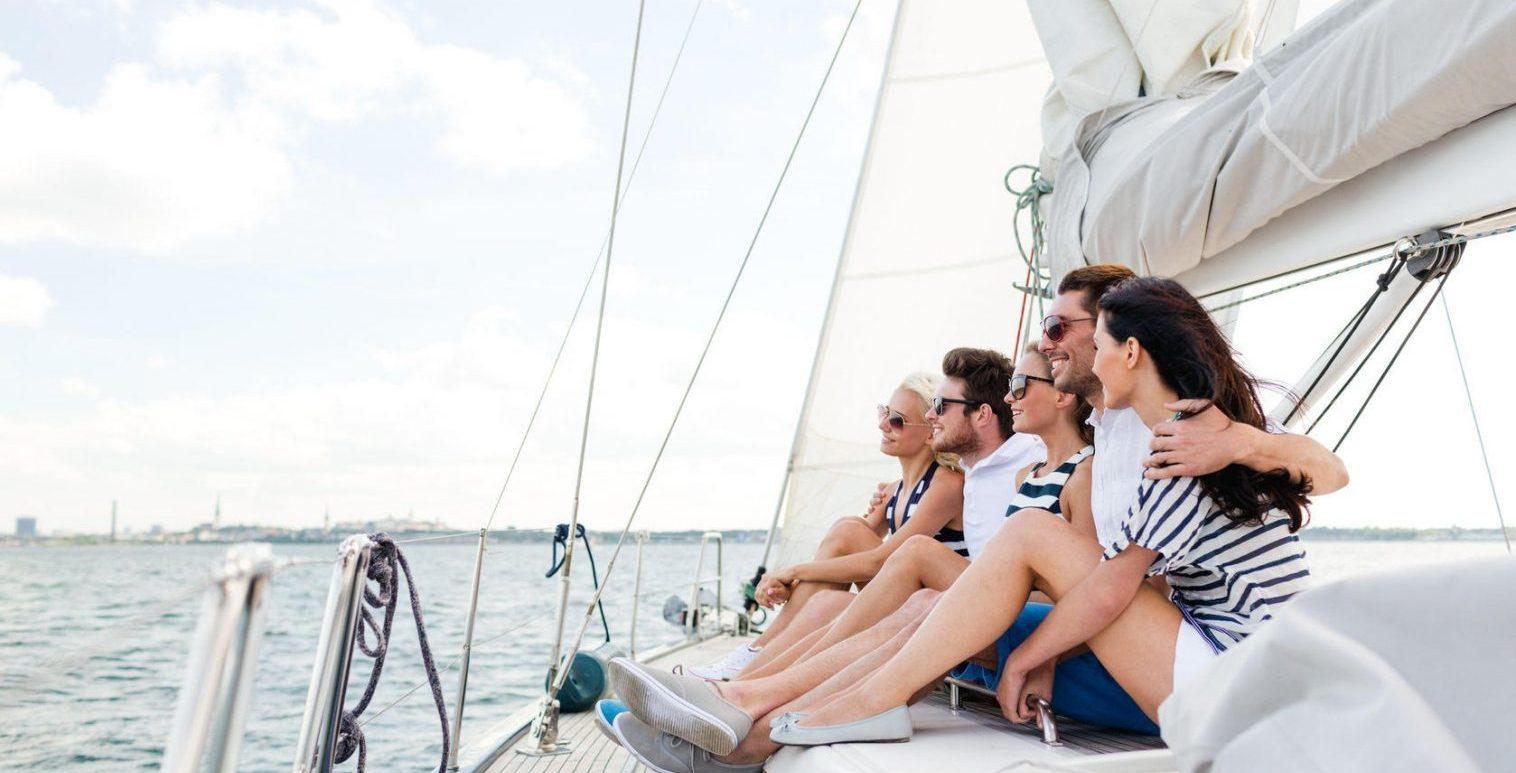 Zijda Yachting lachende mensen