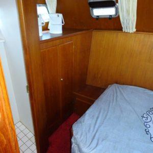 Slaapcabine 2 op boot