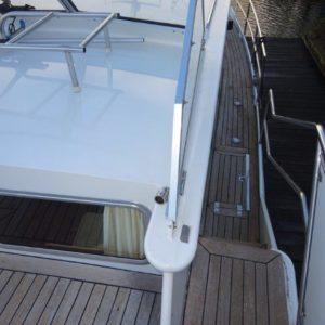 Dek van boot