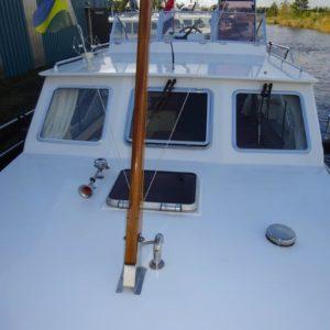 Foto dek van een boot